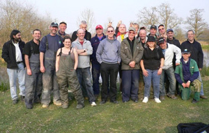 Crawley Post Office Angling Club Anglers